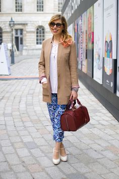 158b5991e95 What  London Fashion Week She  Lauren Wears  Coat  H Bag  Chloe
