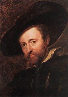 """Self-portrait"" - Peter Paul Rubens"