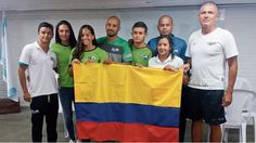 Los deportistas de la Liga de Natacion de Antioquia representan a Colombia en Budapest.