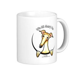 Fawn Greyhound IAAM Coffee Mug