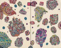 croquis-carnet-labirinthe-couleur-02 - La boite verte
