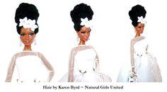 natural hair for a wedding