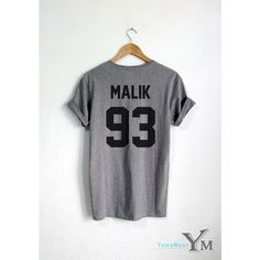 Zayn Malik Shirt Malik 93 Hipster Tshirt Tumblr Unisex Women ($16) ❤ liked on Polyvore featuring tops, t-shirts, silver, women's clothing, silver top, unisex tops, t shirts, unisex shirts and silver t shirt