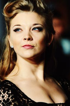 Natalie Dormer is so quirkily pretty, and oh so British :)