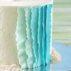 ruffled fondant tutorial