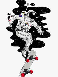 15 ideas for wall paper iphone cartoon illustration phone wallpapers Ps Wallpaper, Wallpaper Space, Galaxy Wallpaper, Wallpaper Ideas, Skateboard Deck Art, Skateboard Design, Space Drawings, Art Drawings, Art Illustration Vintage