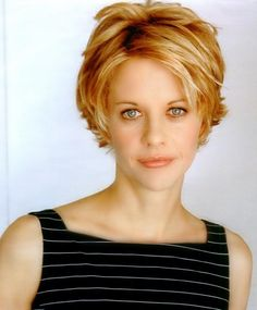 short hairstyles for over 50 with thick hair - Short Hairstyles ...