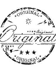 Original Grunge Stamp Stencil by Artisan Enhancements
