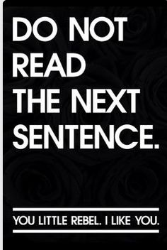 Do not read the next sentence… http://www.FunnyBundle.com