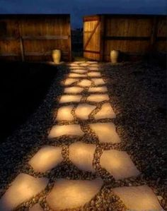 Rustoleum glow in the dark stepping stones