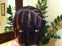 Double Strand Twists & Twisted Beaded Cornrows.