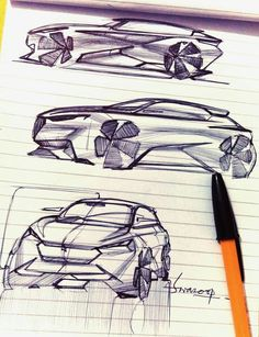 Swaroop Roy Car Design Sketch, Car Sketch, Cool Sketches, Drawing Sketches, Sketch Free, Line Sketch, Character Sketches, Car Drawings, Transportation Design