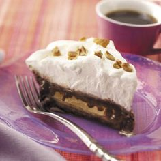 """""""Winning Coffee Ice Cream Pie""""    Contest winner Velma Brown of Turner Station, Kentucky notes: """"While coffee ice cream is great, I sometimes vary the flavor of this family favorite. It's one dreamy summertime treat that's always high on requests for dessert."""""""