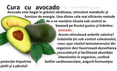 Cura cu Avocado Beauty Hacks, Beauty Tips, Good To Know, Avocado, Health Fitness, Fruit, Food, Sport, Losing Weight