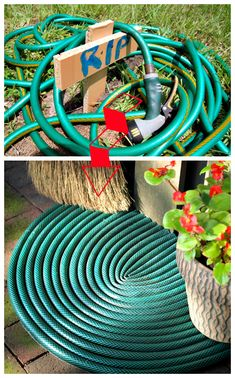 ReFab Diaries: Repurpose: Welcome back your leaky garden hose!