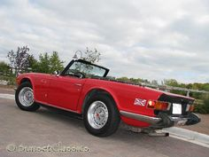 Yes, i really should buy one for Angie to drive too!!  Brings back fond memories TR-6 Had one in the mid 70's. Awesome car!