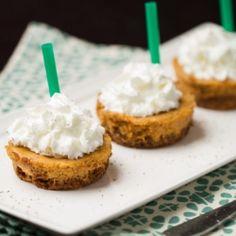 Pumpkin Spice Latte Cheesecake Cups HealthyAperture.com