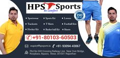 HPS_Sports is a widely known for Sportswear manufacturers and suppliers in Alwar, Rajasthan. They deal with a wide collection of Sports_wear, Sports_kit, Lowers, Tracksuits, TShirts, Shorts at wholesale price. Football Kits, Sport Wear, Thoughts, Shorts, Collection, Soccer Kits, Soccer Equipment, Athletic Wear, Sports Costumes