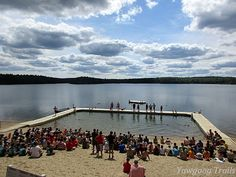 The Scoutmaster Splash event at the Medicine Bow Swim Carnival at Camp #Yawgoog!  A 2015 image by David R. Brierley.