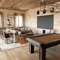 Love The Idea Of The Table Turned Into A Bar Behind The Couch. Tracy  Hardenburg