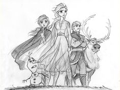 Frozen 2 is here finally!!So much fun to draw... - cosmoanimato