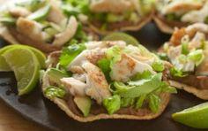 Tilapia Tostadas // A taste of the Mexican coast for Cinco de Mayo! #recipe #summer #seafood