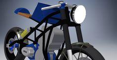 Café Racer Build. One big classic headlight.