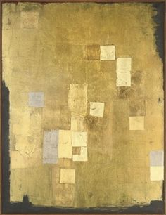 untitled abstract work by Anna Eva Bergman (1909-1987), Norwegian - was part of the School of Paris - became an Abstract Expressionist (wiki) - (frenoir)
