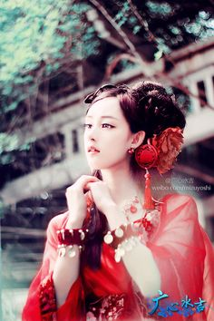 Chinese traditional Hanfu ancient to modern Chinese fashion - cosplay - styles Hanfu