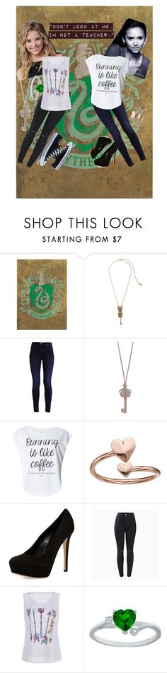 """dont look at me"" by mrsnotsoperfect ❤ liked on Polyvore featuring Betsey Johnson, Vera Bradley, Dorothy Perkins, Alex and Ani, Charles David and Converse"