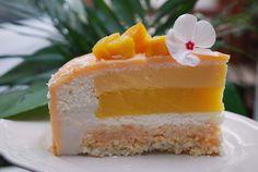 """""""Trópusi csók"""" - Mangó-kókusz mousse-desszert Mousse, Cheesecake, Lime, Food, Limes, Cheesecakes, Essen, Meals, Yemek"""
