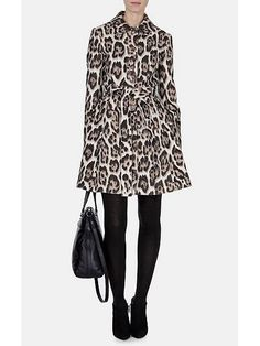 From bombers to macs to puffers, you'll discover coats for every occasion at Karen Millen. Karen Millen, Outlet Clothing, Leopard Coat, My Wardrobe, Wardrobe Ideas, Jackets For Women, Clothes For Women, Belted Coat, Style Inspiration