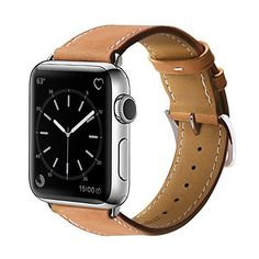FAQ Q: Does the leather band work with Apple Watch Series 2? A: Yes, our bands compatible with Apple Watch Series 1, 2, Apple Watch Sport, Apple Watch Nike+, Hermès, and Edition.  Q:Will the band leather hurt my skin? A:The band is made of genuine leather,skin-friendly, comfortable touch feeling...