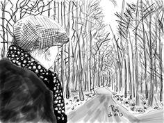 Rob van Doeselaar - David Hockney 1