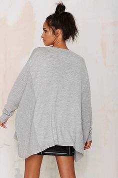 Wool Poncho Sweater