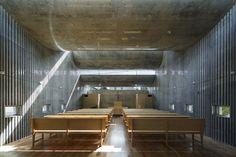 takeshi hosaka architects shonan christ church designboom