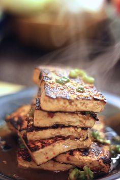 Jenessa's Dinners: Korean Tofu Rice Bowl, food, eating around the world, dinner, lunch