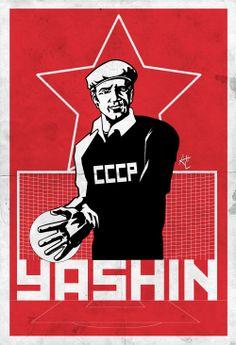 1958, Sweden: The Black Spider Lev Yashin.