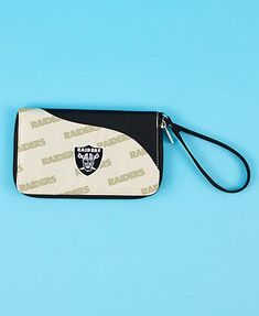 NFL Raiders Cell Phone Wallet Wristlet $14.98