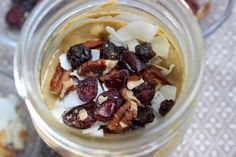 A decadent and nutritious twist on a fall favorite for breakfast!