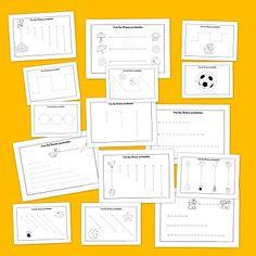 Fichas de #grafomotricidad para infantil y primaria