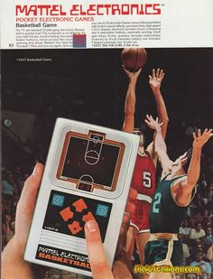 1978 Mattel Electronic Games Catalog