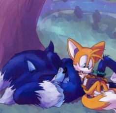 Sonic the Werehog and Tails