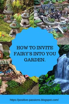 One of my passions.  Fairy Gardens.  Here you will find ideas to make your own Fairy Garden.  Follow my Fariy Garden board.