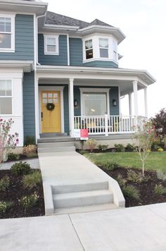 Cutest house ever? Yep! I love how they decorated the interior too - Home Decorating Inspiration