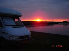 July 2014. Wonderful place near Kornwerderzand, Afsluitdijk (Netherlands)