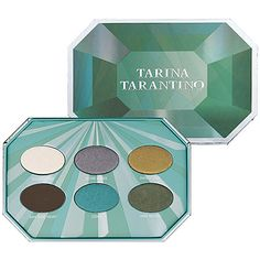 @Tarina Tarantino Emerald Pretty Palette  - ADORED this palette. I think it's pretty hard to get now. I got it on @HauteLook  but I'd buy ANY shadow from this line. Gorgeous rich color and amazingly buildable (a claim often made, rarely done well.)