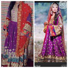 Afghani Clothes, Bridal Mehndi Dresses, Afghan Dresses, Designs For Dresses, Designer Dresses, Kimono Top, Tops, Women, Fashion