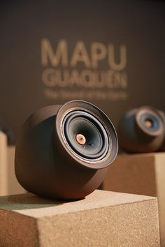 Mapuguaquén: clay wireless speakers by Salone Satellite