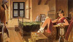 Rayon : Affiches, Série : Gibrat, Le Sursis (50 x 25 cm) (Cliquer pour agrandir)